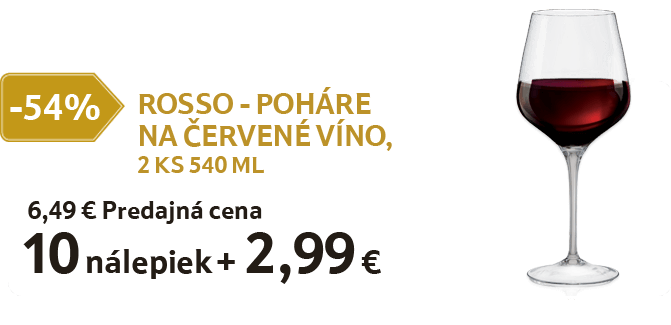 Rosso poháre