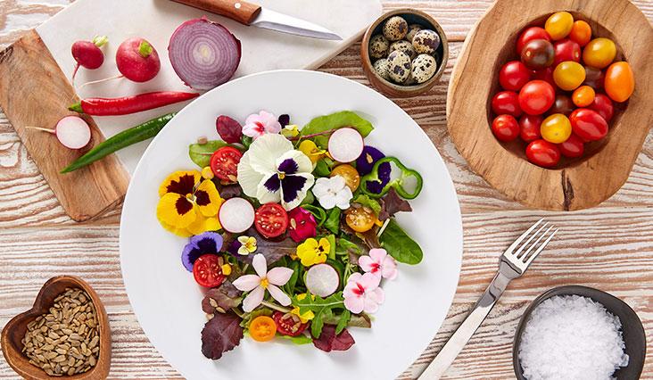 Az ehető virág több mint dekoráció