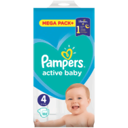 Pampers active baby Detské plienky