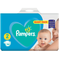 Pampers plienky active baby giant pack
