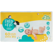 Fred & Flo Ultra Dry plienky 2 Mini 60 ks