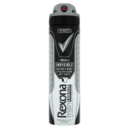 Rexona Men Invisible Black+White antiperspirant sprej pre mužov 150 ml