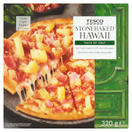 Tesco Stonebaked Hawaii pizza 320 g