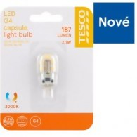 Tesco LED žiarovka 2.1W (20W) G4