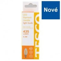 Tesco LED žiarovka 4.3W (38W) E14