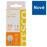 Tesco LED žiarovka 6.6 W (40 W) E27