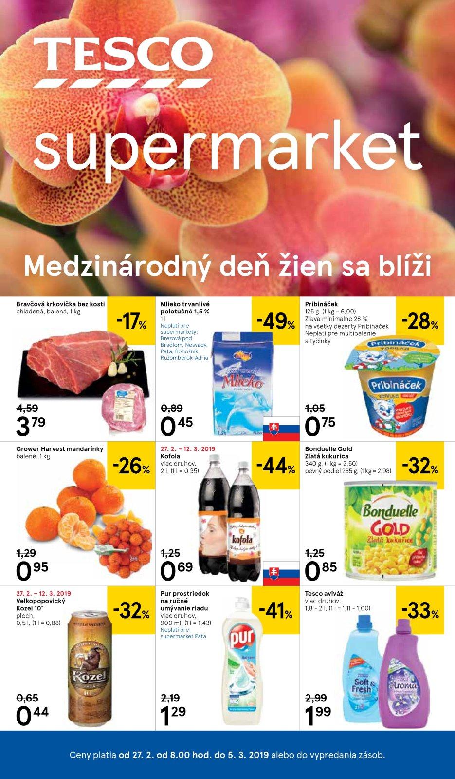 818616ffb Supermarket Žilina Hájik Leták 9 | Letak strany | Tesco