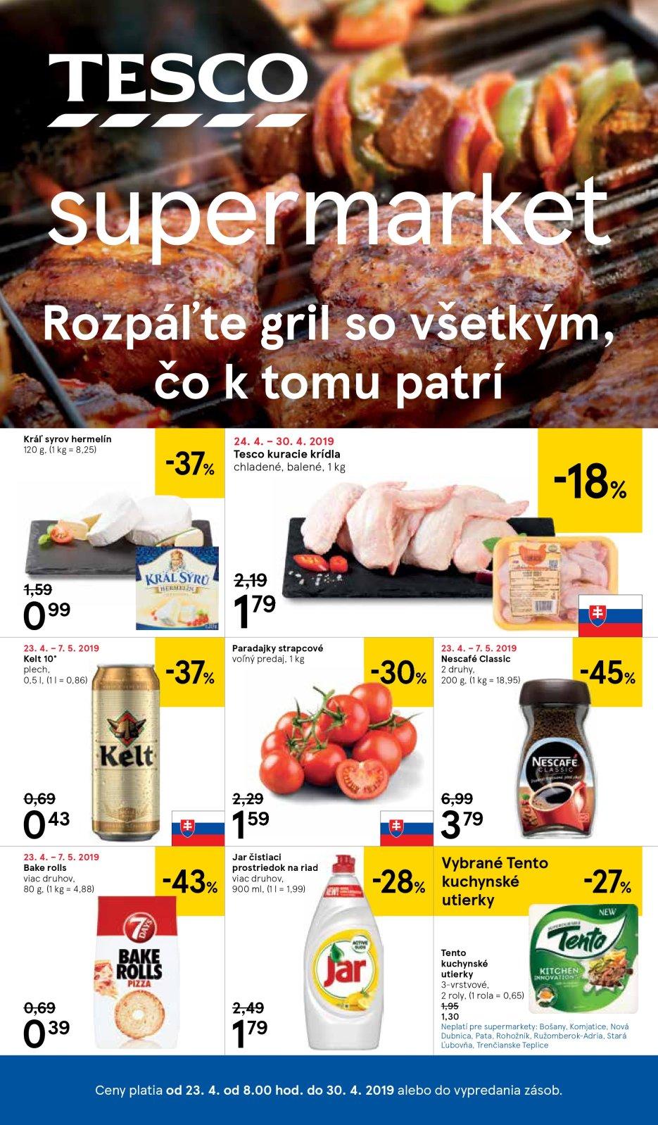 e3c098d62 Supermarket Žilina Tempo Leták 16 | Letak strany | Tesco