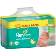 Pampers Active Baby-GIANT PACK+