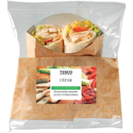 Tesco Cézar wrap
