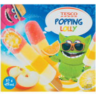 Tesco Popping Lolly