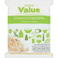 Tesco Value Kapusta kvasená