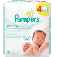 Pampers sensitive vlhčené utierk