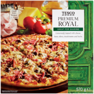 Tesco Premium Royal pizza