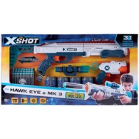 X-Shot pištoľ Combo Hawk Eye
