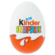 Kinder Surprise sladké vajíčko s mliečnou čokoládou s prekvapením 20 g 5470a8bc44a