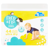 Fred & Flo Ultra Dry plienky 5 Junior 44 ks