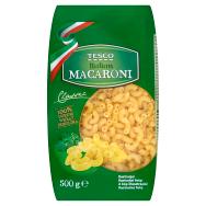 Tesco Macaroni bezvaječné semolinové sušené cestoviny 500 g ed0064fffc4