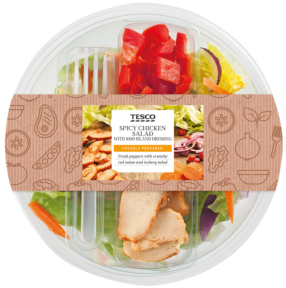 TS SALAD SPICY CHICKEN 230G