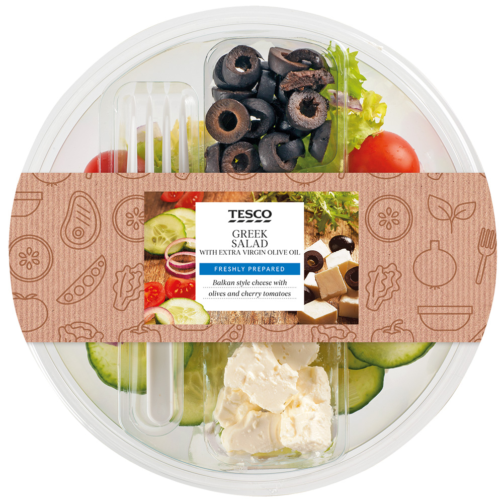 TS CHILLED SALAD GREEK 210G
