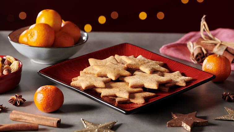 Najlepšie vianočné medovníkové hviezdičky so zázvorom