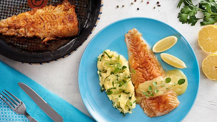 Ryba v citrónovo-maslovej omáčke