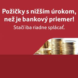 Garantujeme vám nižší úrok