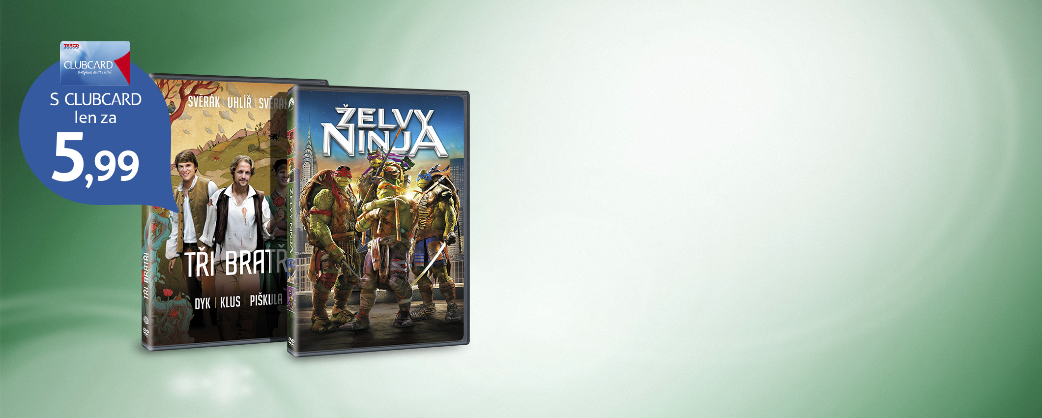 Aktuálne DVD novinky